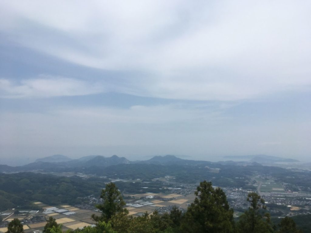 可也山からの景色