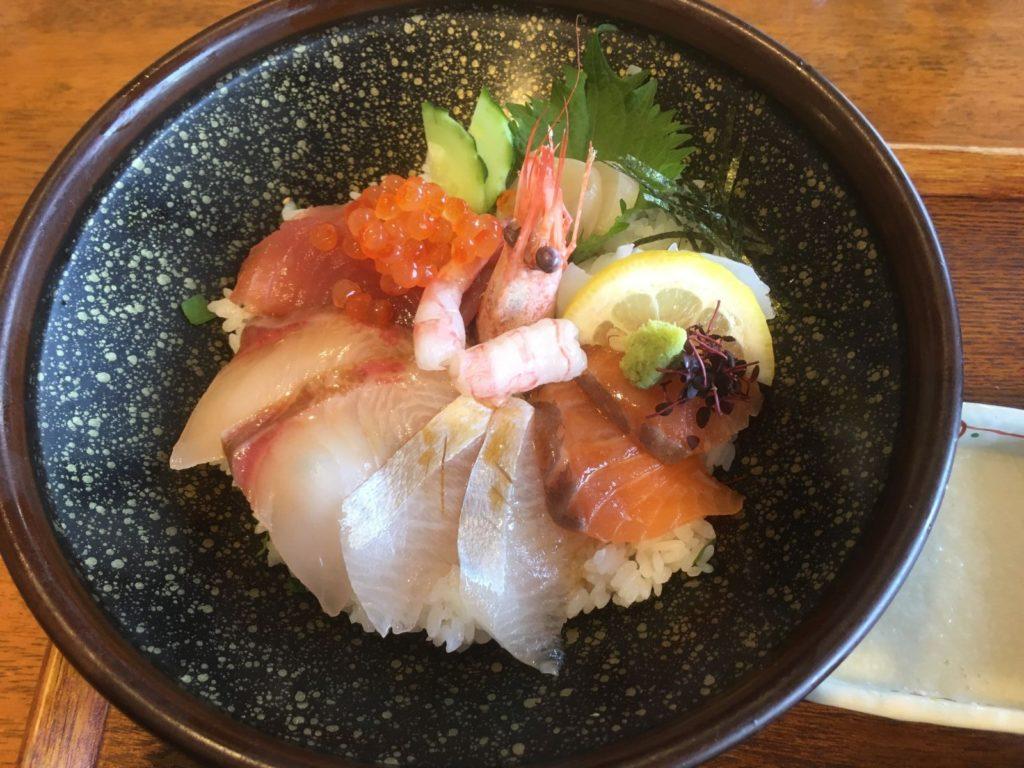 伊都の湯どころの海鮮丼