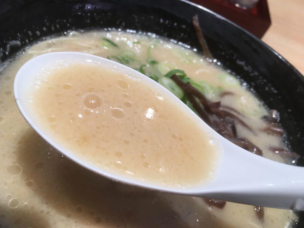 玉龍のスープ