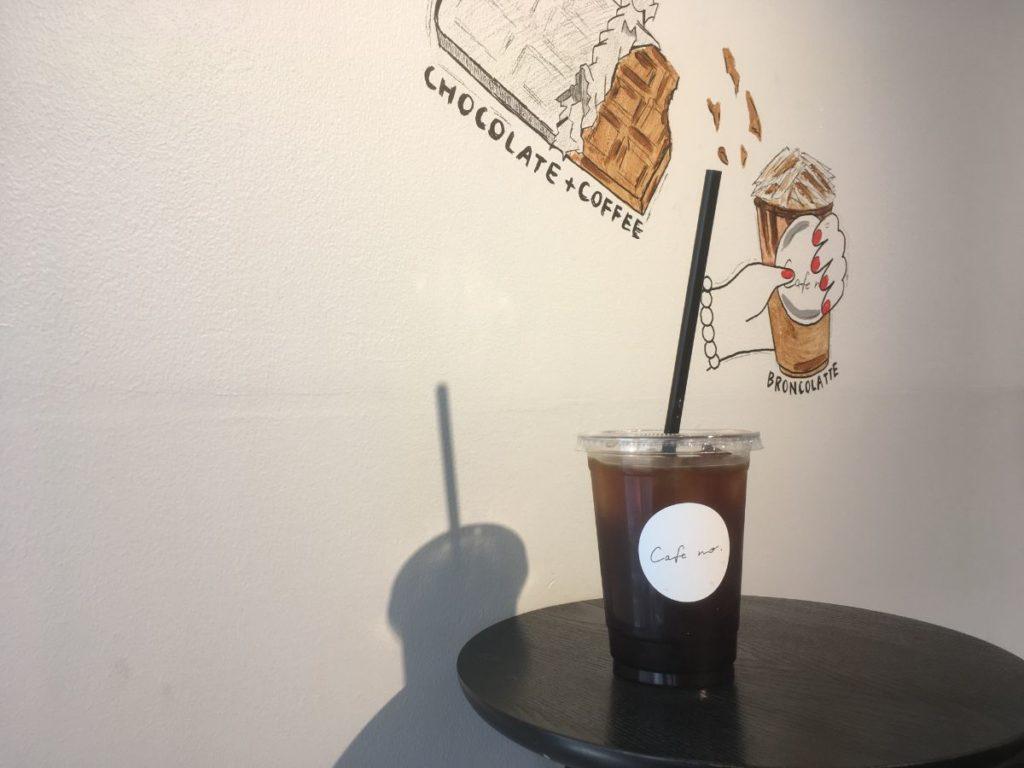 cafenoのアイスコーヒー1