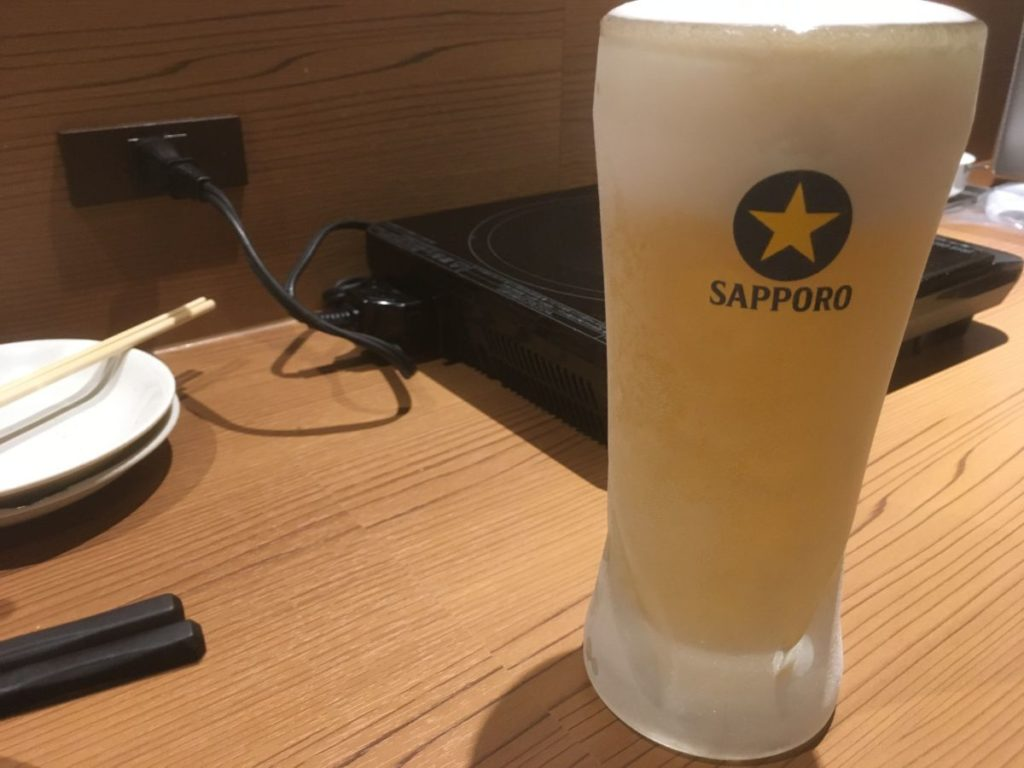前田屋のビール