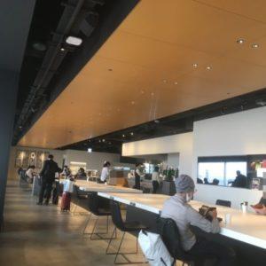 羽田空港パワーラウンジの雰囲気