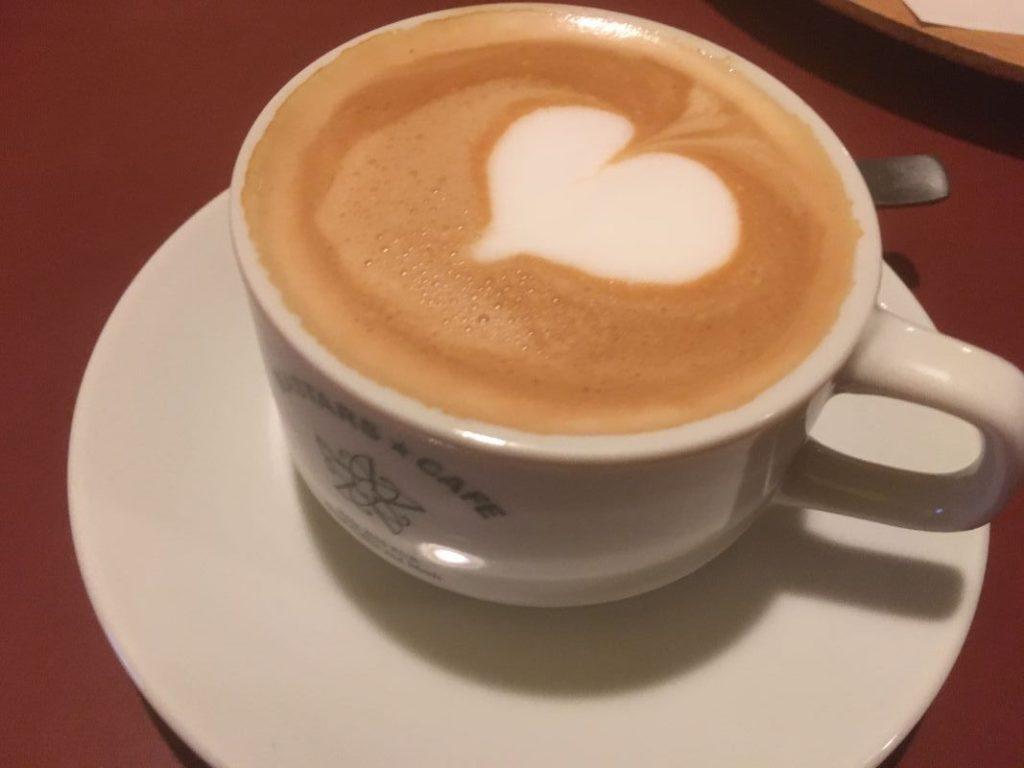 マスターズカフェ博多のカフェラテ