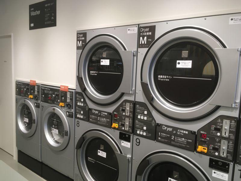 バルコランドリープレイス福岡多々良の乾燥機