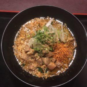 豚のココロの辛麺