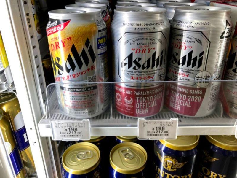 コンビニのアサヒ生ジョッキ缶